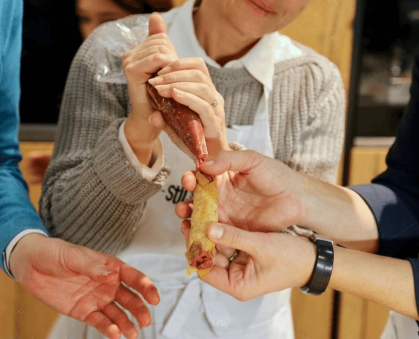 Beef Tatar Zigarillos kaufen im Wiesbauer Gourmet Online Shop. Premium Fleisch zum Top Preis