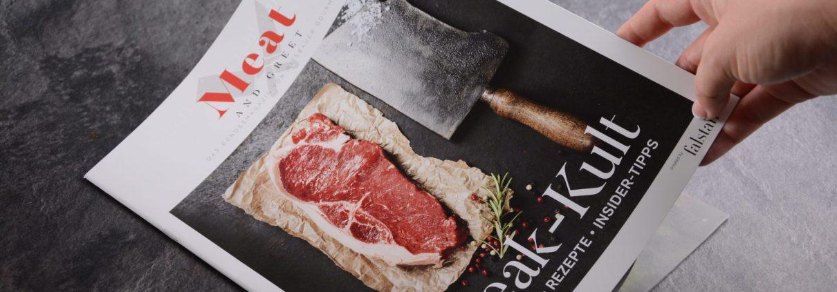 Meat and Greet - die Printausgabe ➤ Fallstaff ➤ Wiesbauer Gourmet. Neben dem Meat and Greet Magazin online gibt es auch seit kurzem das Meat and Greet Magazin als Printausgabe. Zu bekommen ist die Printausgabe mit jeder Bestellung, oder auch direkt bei uns auf Anfrage.