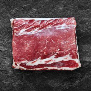 Mangalica Rücken kaufen (Mangalitza Rücken), Mangalica Rücken online kaufen & bestellen! Premium Fleisch vom Mangalica Schwein (Wollschwein), Mangalica Rücken 250 g - 300 g, Mangalica Rücken online bestellen, Mangalica Fleisch kaufen, Mangalica Schwein online kaufen