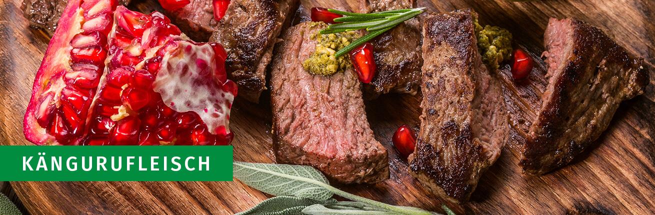Känguru Fleisch, Känguru Steak kaufen, Känguru Fleisch online kaufen