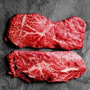 Rinder Flat Iron Steak, Rinder Flat Iron Steak USA, Rinderschulter, Schulterscherzel, Schaufelstück, Mittelbugstück, Rinder Flat Iron Steak, Rinder Flat Iron Steak USA