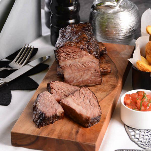Rinder Shortribs USA sous vide vorgegart kaufen im Wiesbauer Gourmet Online Shop. Premium Fleisch zum Top Preis