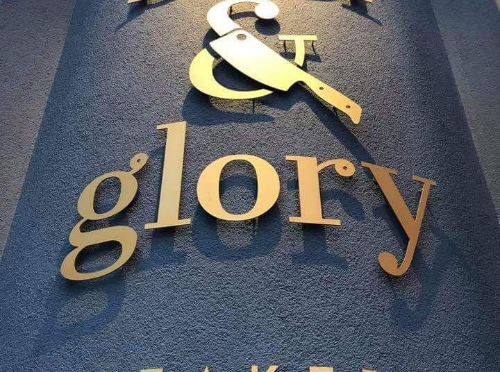 Taste the story of beef & glory, das Logo