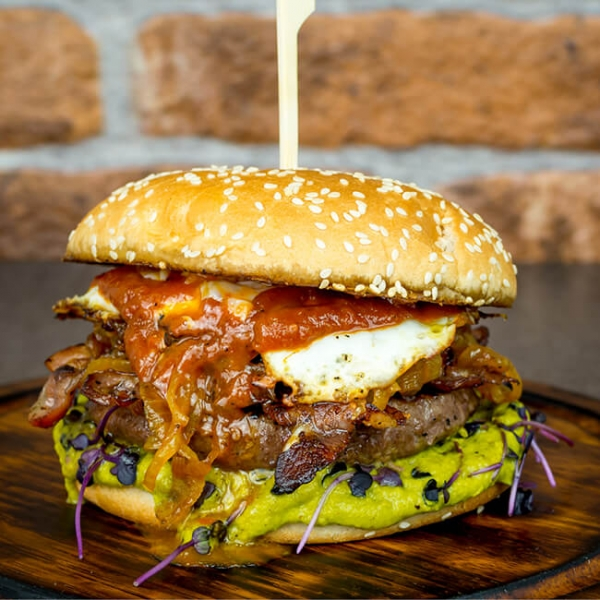 Burger dry aged, Dry aged Burger, Dry Aged Beef Burger laufen, Burgerfleisch