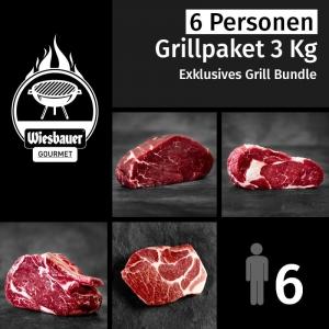 Grillpaket 3 Kg Grillfleisch für 6 Personen. 8 Stück Steaks zum Grillen online kaufen. Rinder Steaks & Duroc Schopf für & Ihre Gäste. Grillfleisch kaufen