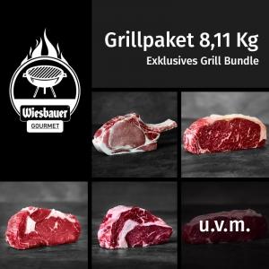 Grill Fleisch Bundle 8,11 Kg Grillpaket kaufen / Grillfleisch kaufen. Wiesbauer Gourmet 8 Kg Grillfleisch Paket jetzt online bestellen. Schnell geliefert!