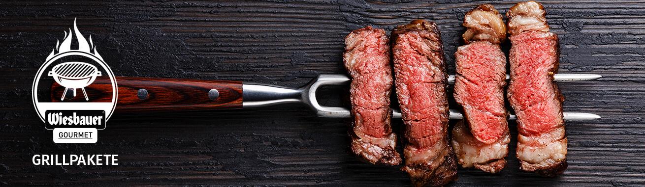 Grillpakete kaufen ➤ Top Grill Fleisch online kaufen. BBQ Fleisch kaufen ✓ Schweinefleisch ✓ Rindfleisch ✓ Exoten oder Steaks! Grillpakete online kaufen!