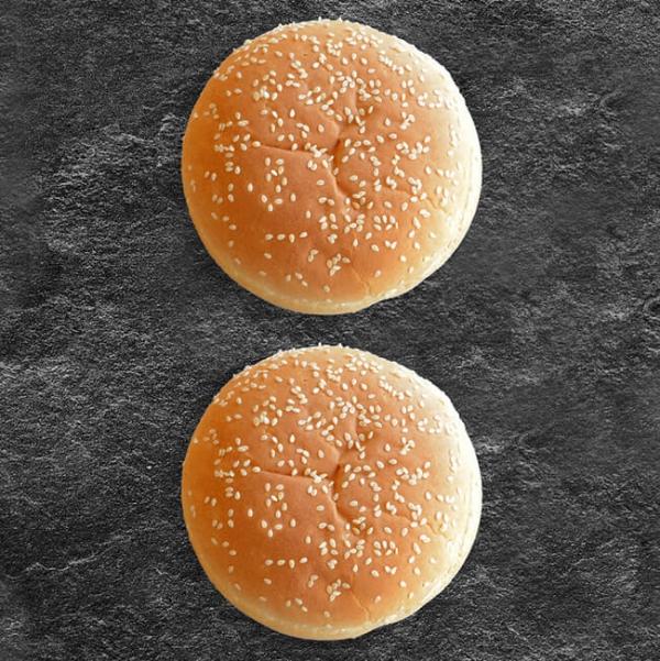 Burger Buns, Burger Sesam Semmel, Sesam Burger Weckerl