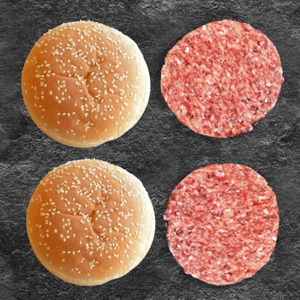 Wagyuburger online kaufen. Burger Fleisch vom Wagyu Beef kaufen