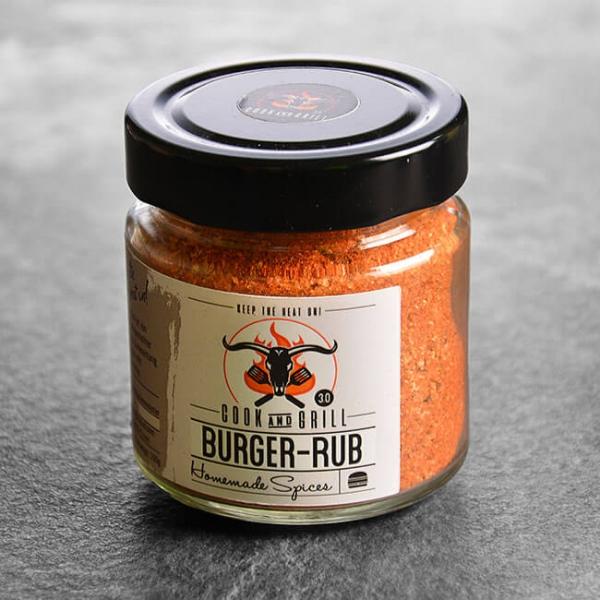 Burger Rub - Gewürzmischung Burger 150 g kaufen. Burger Rub kaufen. Gewürzmischung für Burger / Hackfleisch Gerichte - von Grillmeister Marcel Ksoll!