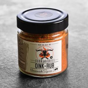 Gewürz kaufen ➤ Oink Rub - Gewürzmischung 150 g kaufen. Gewürzmischung für Schweinefleisch Liebhaber, zusammengestellt von Grillmeister Marcel Ksoll!