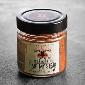 Gewürz kaufen ➤ Pimp my Steak Gewürz 100 g kaufen. Steak Gewürz, zusammengestellt von Grillmeister Marcel Ksoll. Steakgewürz ➤ Gewürz kaufen im Onlineshop