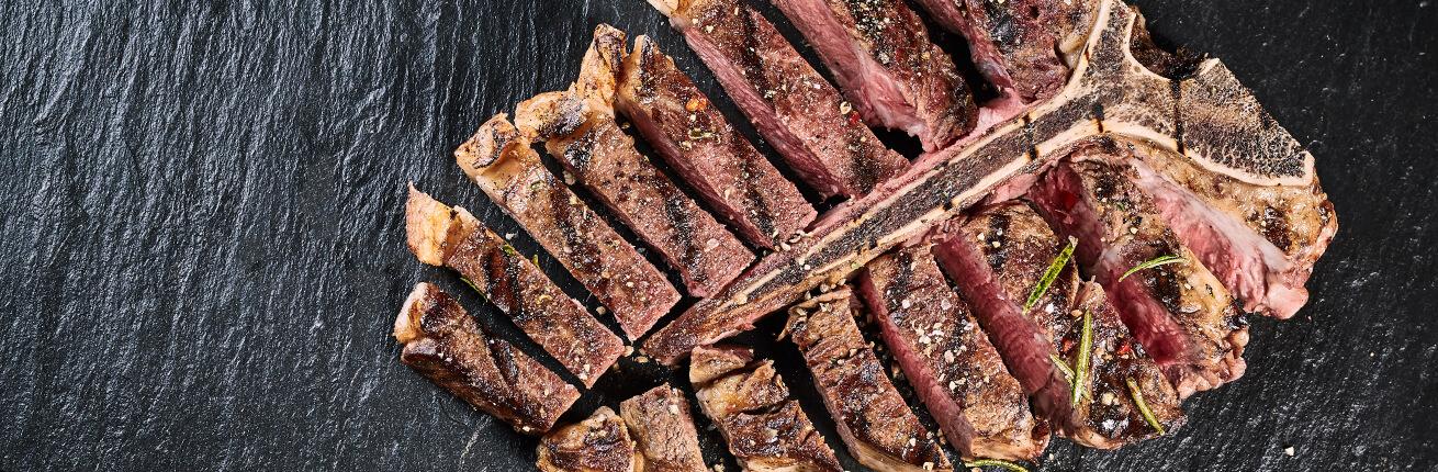 Porterhouse Steak kaufen bei Wiesbauer Gourmet. Porterhouse Steak online kaufen