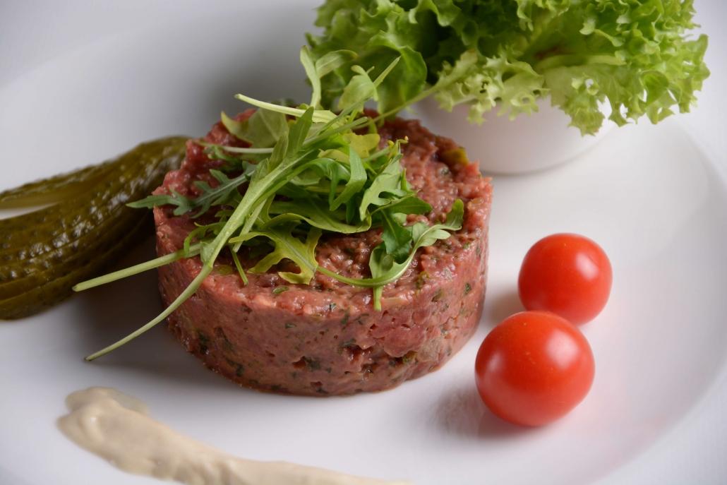 Würziges Beef Tartare