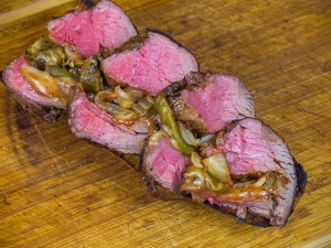 "Olvahh´s Rinderfilet ""Philly-Cheese-Steak"""