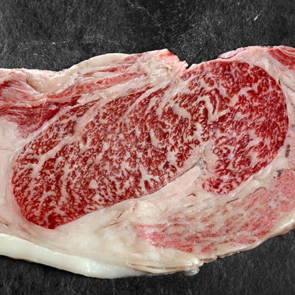 Kobe Entrecote Original Ribeye Steak aus Japan exklusiv bei Wiesbauer Gourmet in Österreich