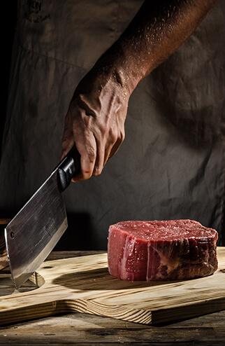 Beef Steak aus Hackfleisch: Beef Steak kaufen, Beefsteak bestellen