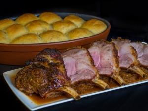 Mangaliza Rack - Mangalitza-Karree. Mangaliza Schweinefleisch online kaufen