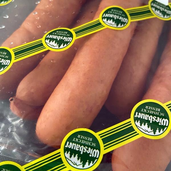 Käsekrainer 150 g von Wiesbauer-Gourmet. Käsekrainer kaufen. Käsekrainer bestellen