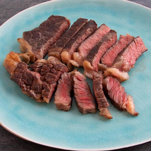 Easy Steak Ribeye 300 g, 1 Steak ➤ gelingsischeres Ribeye Steak kaufen. Regionales Steak Fleisch, servierfertig in nur wenigen Minuten. Ribeye Steak kaufen