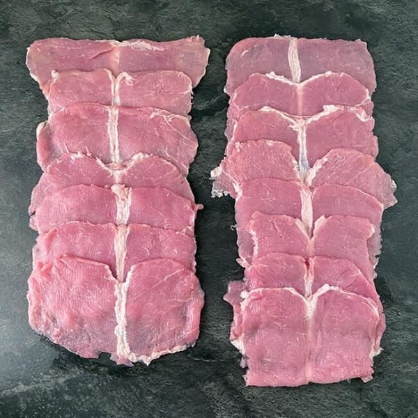 Schnitzel aus Österreich 160 g, 15 Stk 2,4 Kg kaufen ➤ Schweineschnitzel aus der Region. Jetzt online Schnitzel Schweinefleisch bestellen. Schnell geliefert