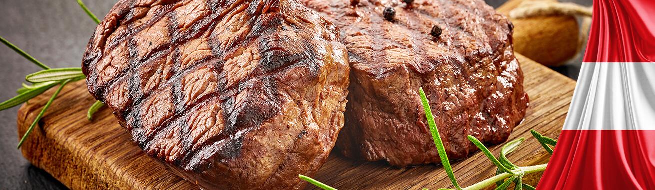 Regionales Rindfleisch kaufen. Rindfleisch aus Österreich. Dry Aged Beef, Regionales Rind Fleisch kaufen