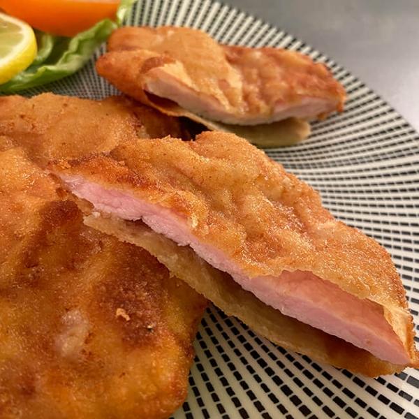 Schweine Surschnitzel paniert online bestellen im Online Shop bei Wiesbauer Gourmet
