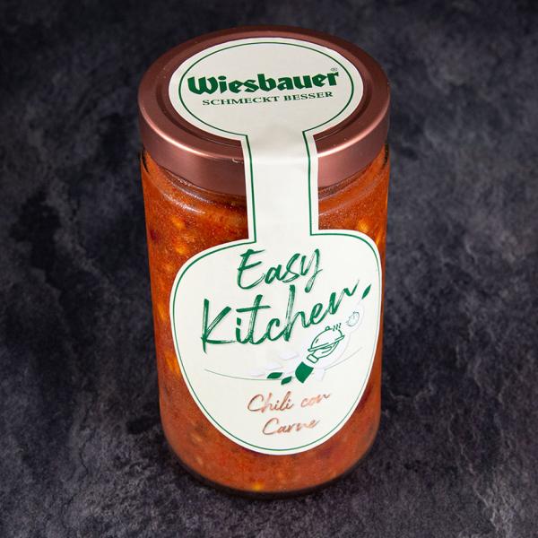 Easy Kitchen Chili Con Carne, Sous Vide Fertiggericht Wiesbauer. Chili con Carne Sous Vide kaufen