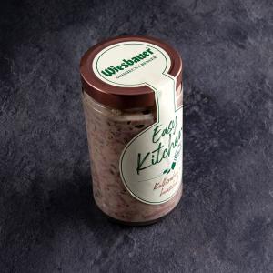 Kalbsrahmbeuschel kaufen ✓ 1 Glas 280 g absolut gelingsicher und servierfertig in wenigen Minuten ✓ Zubereitung im Topf / Mikrowelle von Wiesbauer