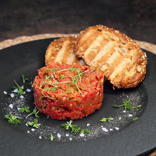 Beef Tatare kaufen, Beeftatare - Beef Tatare Wiesbauer Gourmet - Bestes faschiertes Rindfleisch aus Österreich