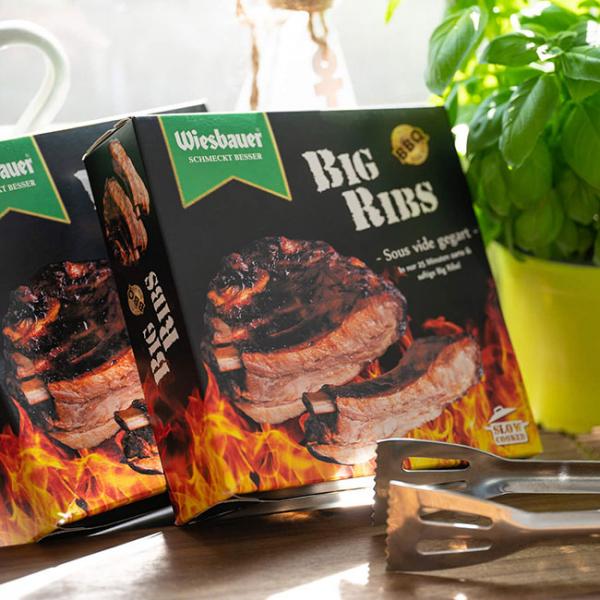 Big Ribs Brustspitz Rippen Sous Vide gegart 450 g